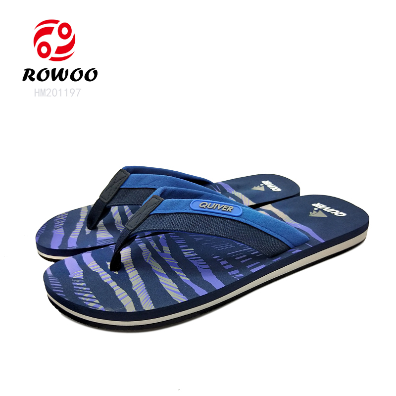 hotsale customized gents sandals luxury new Fashion slippers for men