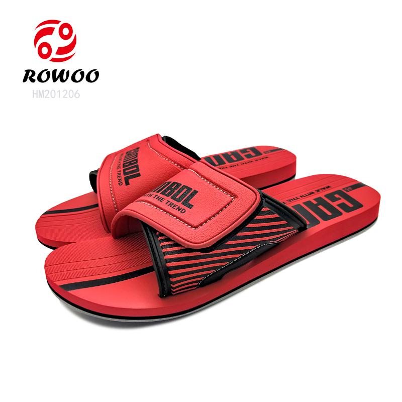 Hotsale sandal customized new fashion good quality indoor men slippers