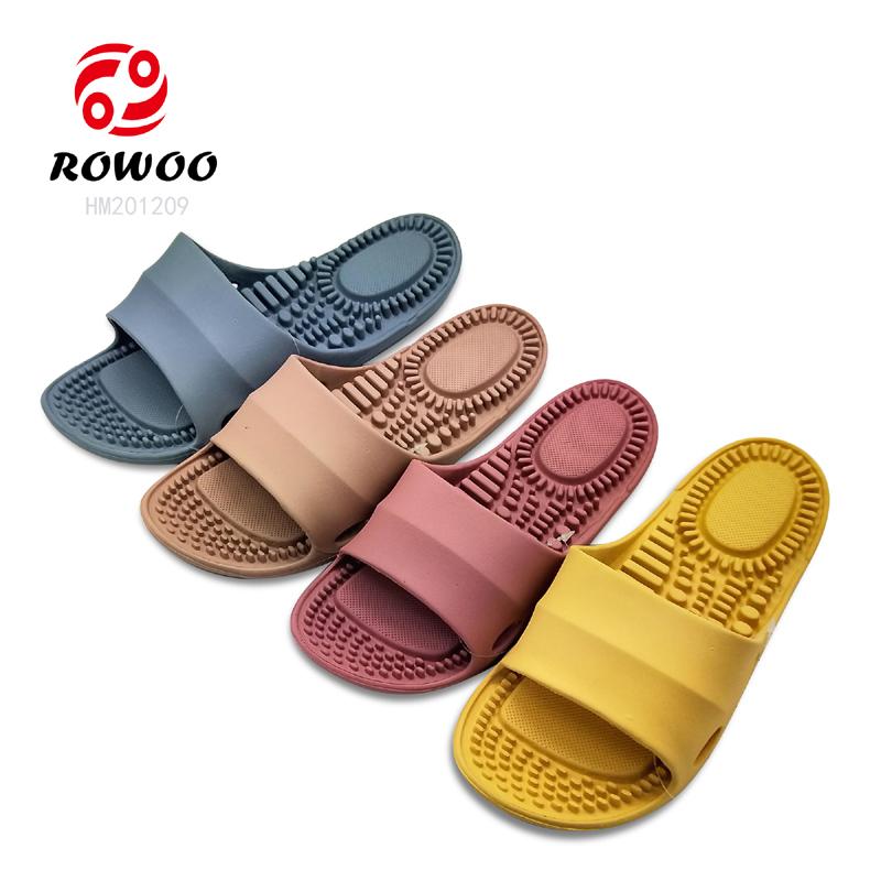 blow rubber EVA injection sandal Massage insole light soft slipper