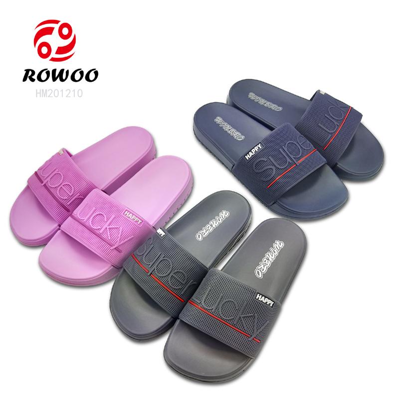open toe sandal fashion Luxury new indoor slipper anti-slip slide sandal for men