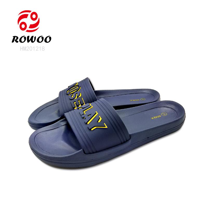 Promotion customized fashion slide sandals comfortable flipflop for men