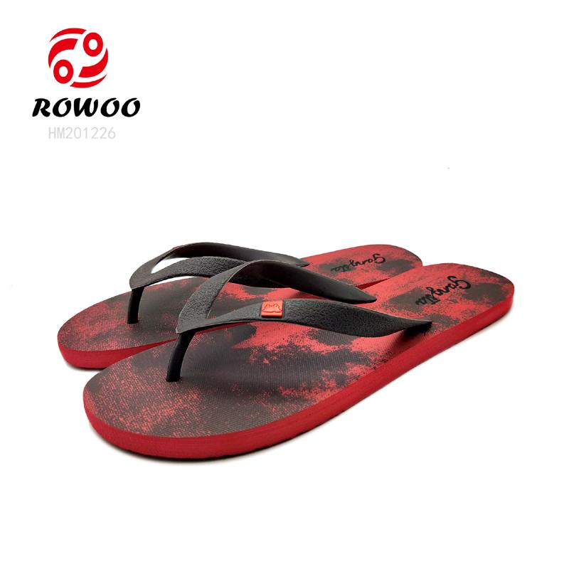 2021 China factory promotionalchappals fashion men's  flipflops slippers