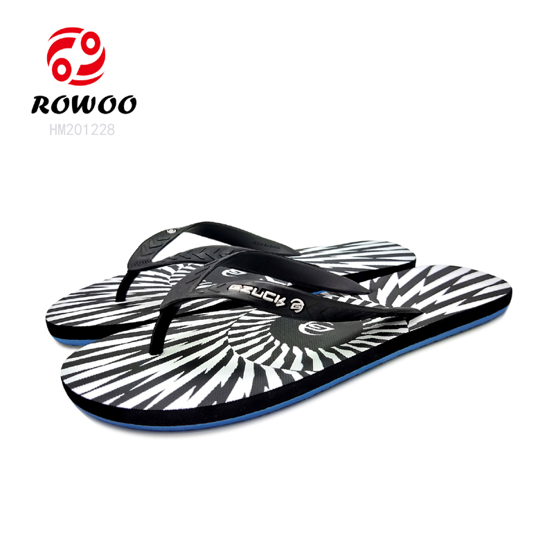 customized comfort color print gents arket sandals beach home slippers